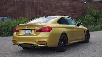 2015 BMW M4 Coupe Austin Yellow blacked out