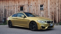 2015 BMW M4 Coupe Austin Yellow front