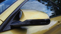 2015 BMW M4 Coupe Austin Yellow side mirror caps