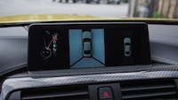 2015 BMW M4 Coupe Austin Yellow parking display surround cameras