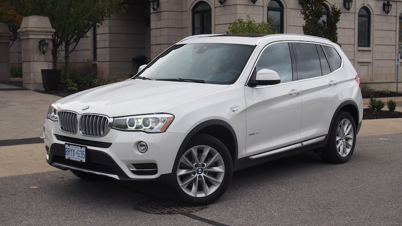 Review 2015 Bmw X3 Xdrive28d Canadian Auto Review