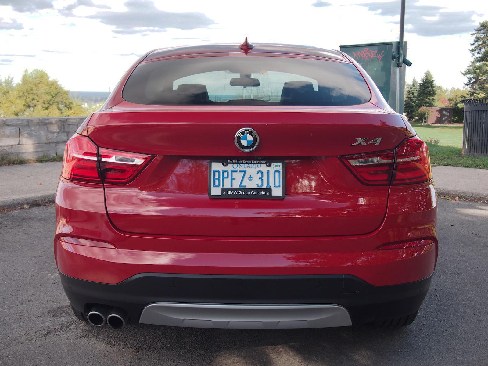 Review 2015 BMW X4 XDrive28i