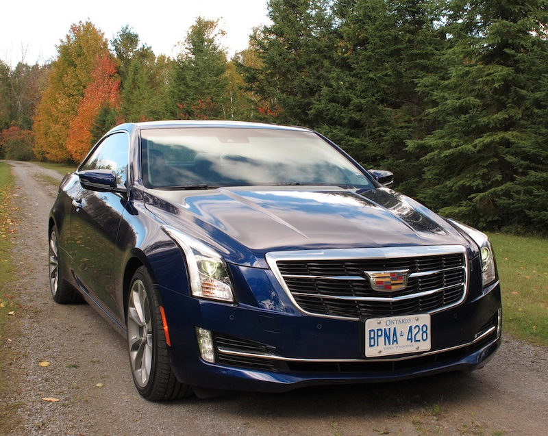 review 2015 cadillac ats coupe canadian auto review. Black Bedroom Furniture Sets. Home Design Ideas