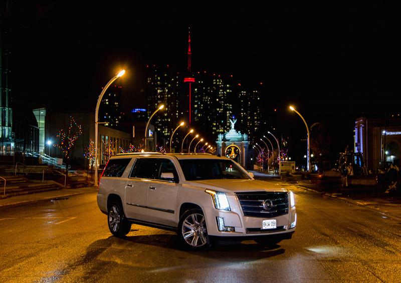 Review 2015 Cadillac Escalade Esv Canadian Auto Review