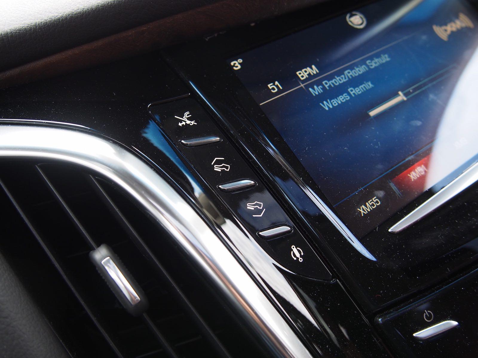 Cadillac Escalade Esv Center Controls on Cadillac 4100 Timing