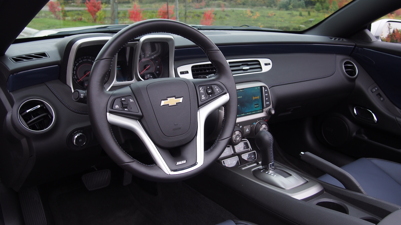 Marvelous 2015 Chevrolet Camaro SS Convertible Dashboard Interior Photo