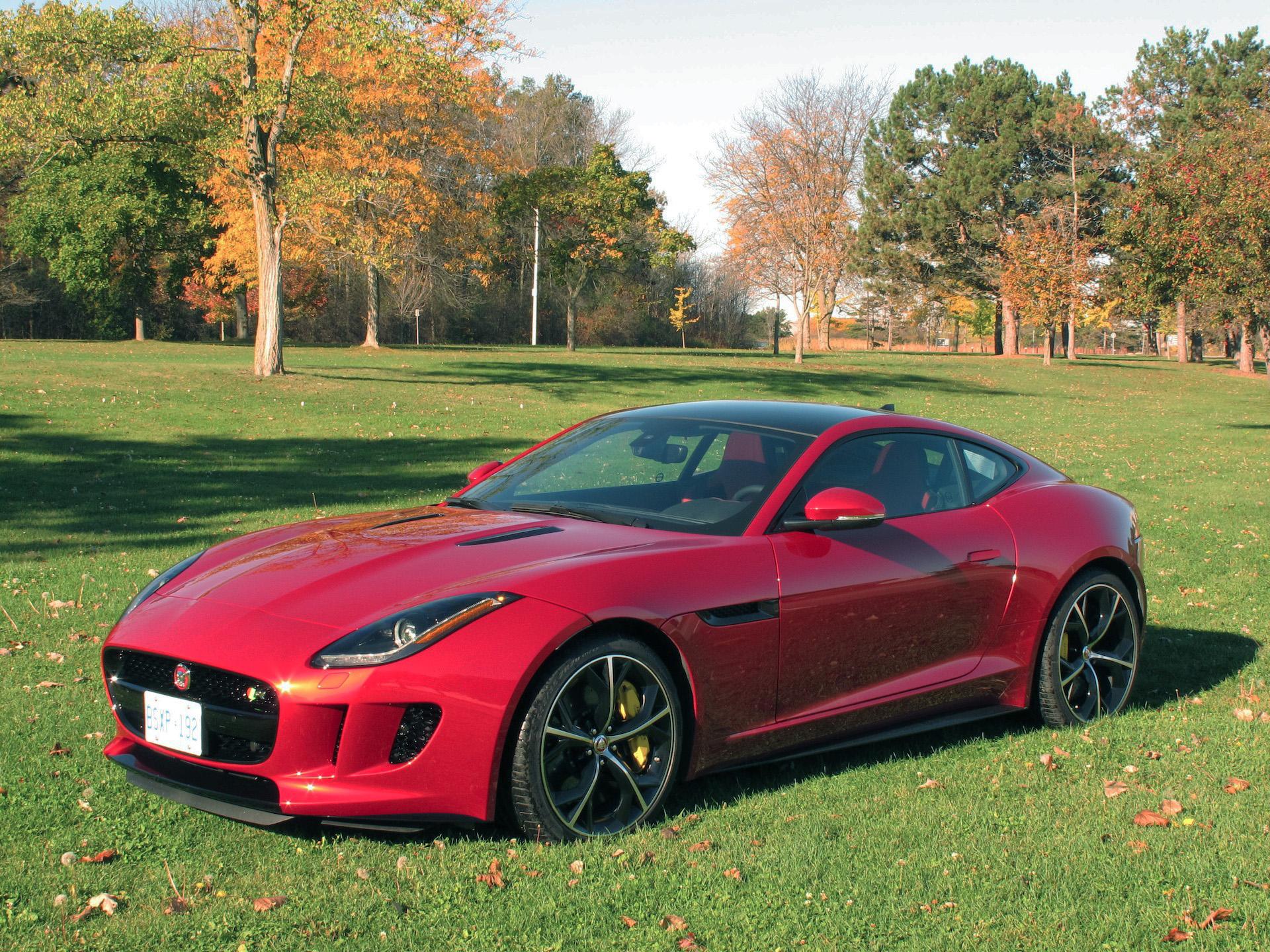 review 2015 jaguar f type r coupe canadian auto review. Black Bedroom Furniture Sets. Home Design Ideas