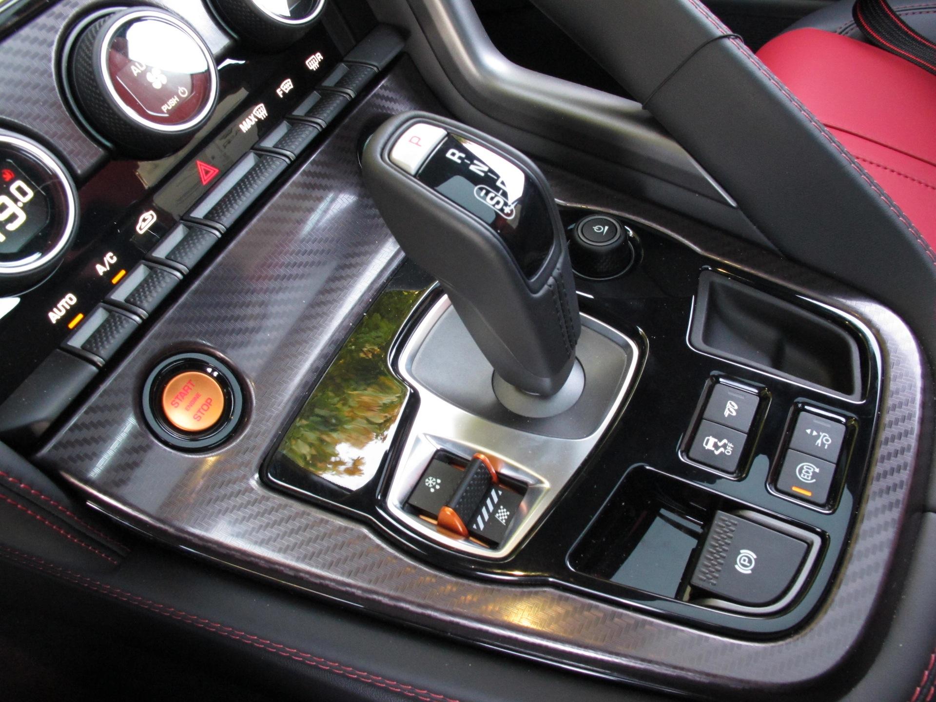 Jaguar Ftype R Coupe Gear Shifter