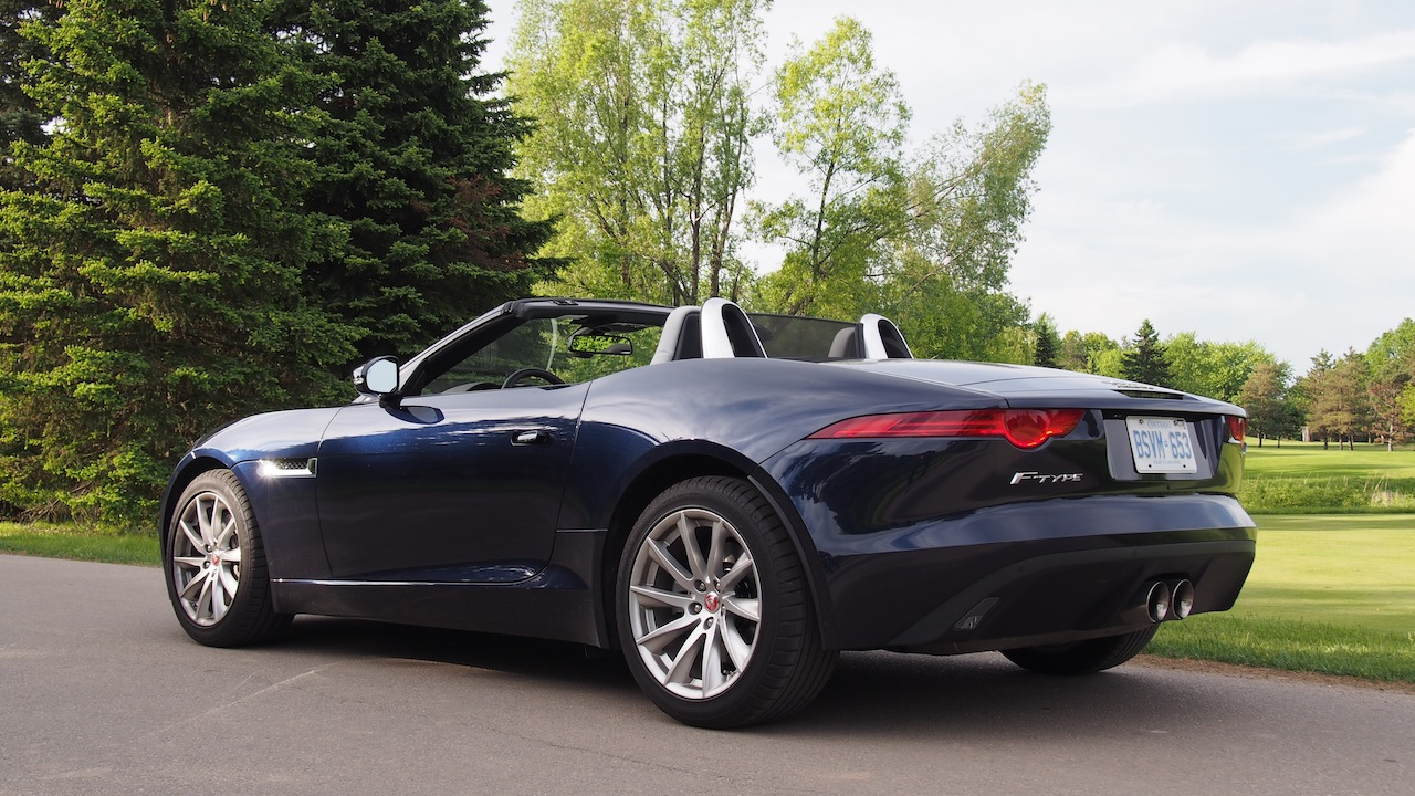 review 2015 jaguar f type v6 convertible canadian auto review. Black Bedroom Furniture Sets. Home Design Ideas