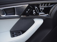 2015 Jaguar F-Type V6 Convertible Indigo Blue Metallic door controls