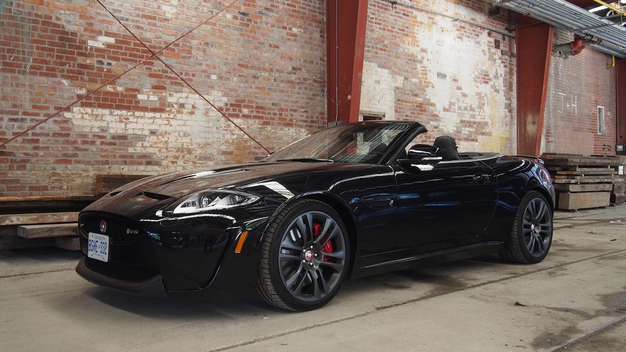 2015 jaguar xkr s convertible black
