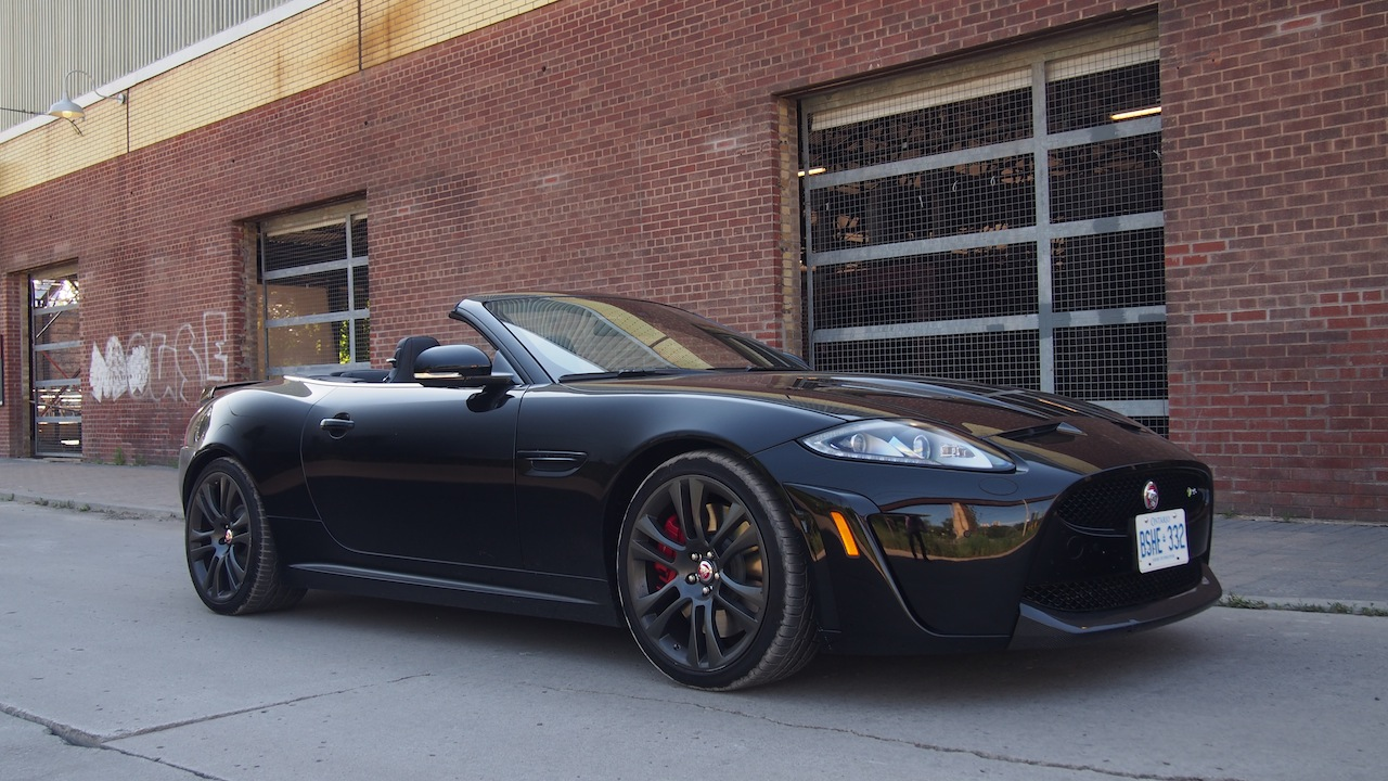 2015 Jaguar XKR S Convertible
