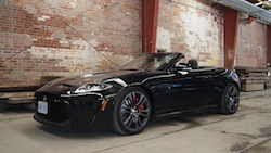 2015 Jaguar XKR-S Convertible Black
