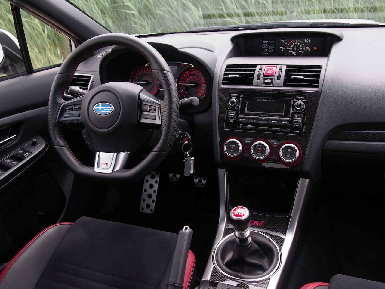 ... Interior 2015 Subaru WRX STI Dashboard ...
