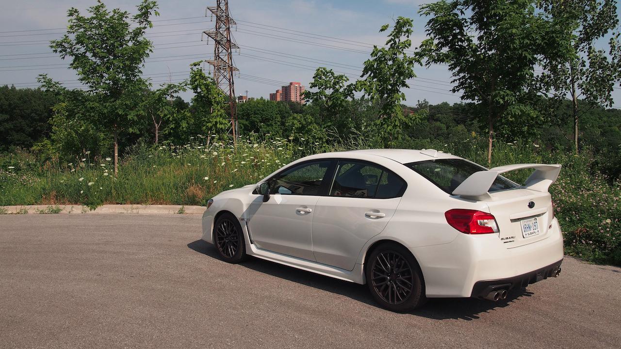 ... 2015 Subaru WRX STI rear spoiler ...