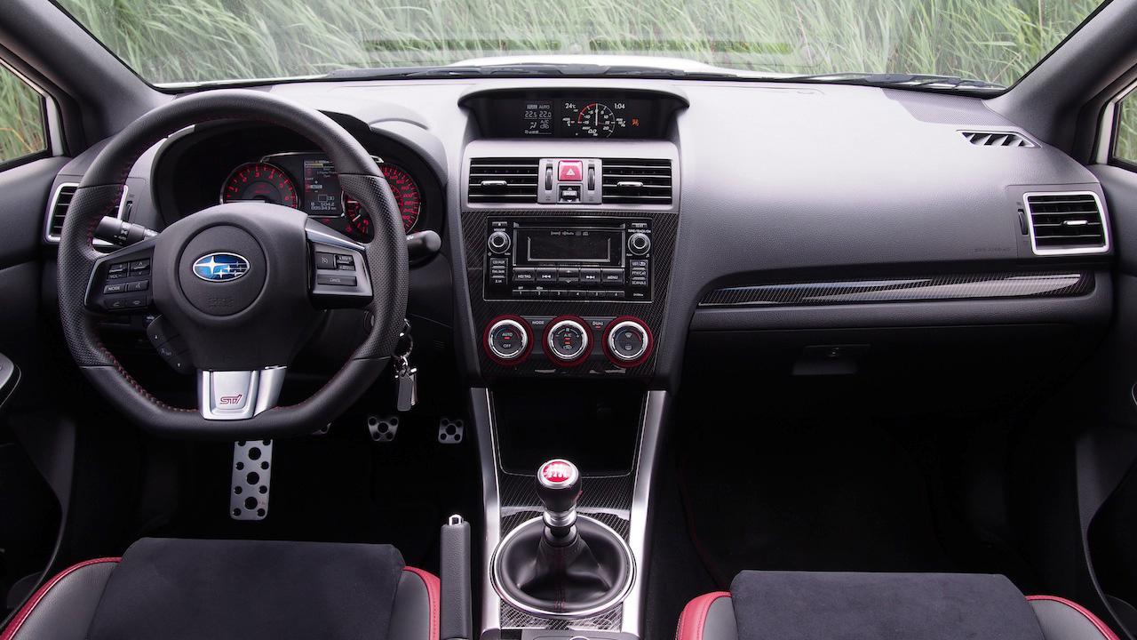 ... 2015 Subaru WRX STI Panorama Interior View ...