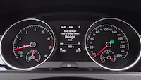 2015 Volkswagen Golf gauges