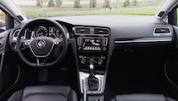 2015 Volkswagen Golf Highline dashboard