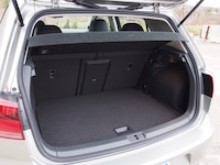 2015 Volkswagen Golf cargo space