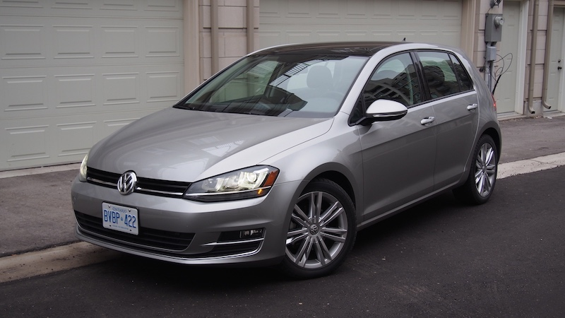 2015 Volkswagen Golf Highline tungsten silver metallic