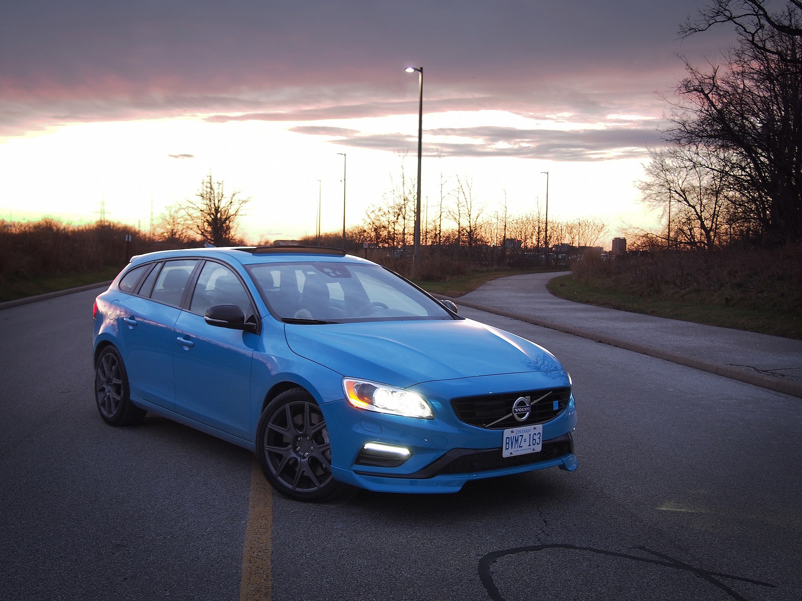 Review 2015 Volvo V60 Polestar Canadian Auto Review