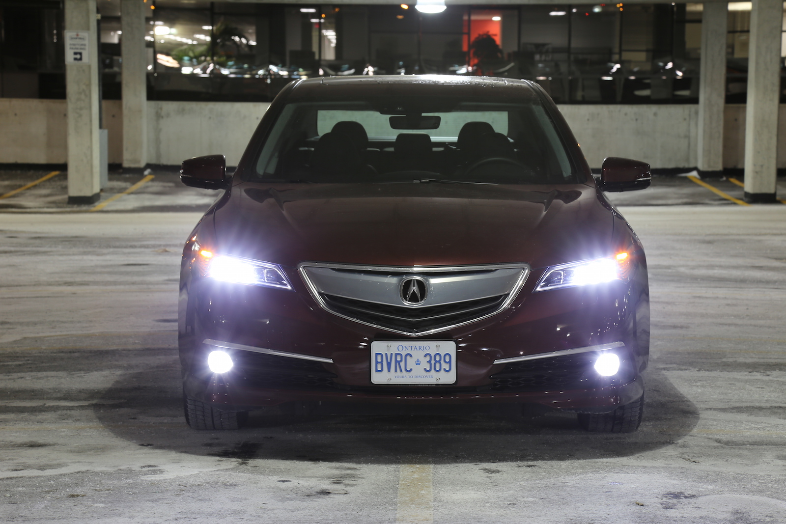 Review Acura TLX V PAWS Elite Canadian Auto Review - Acura tlx led headlights