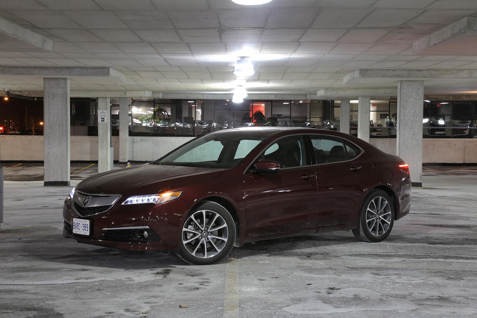 Review 2015 Acura Tlx V6 P Aws Elite Canadian Auto Review