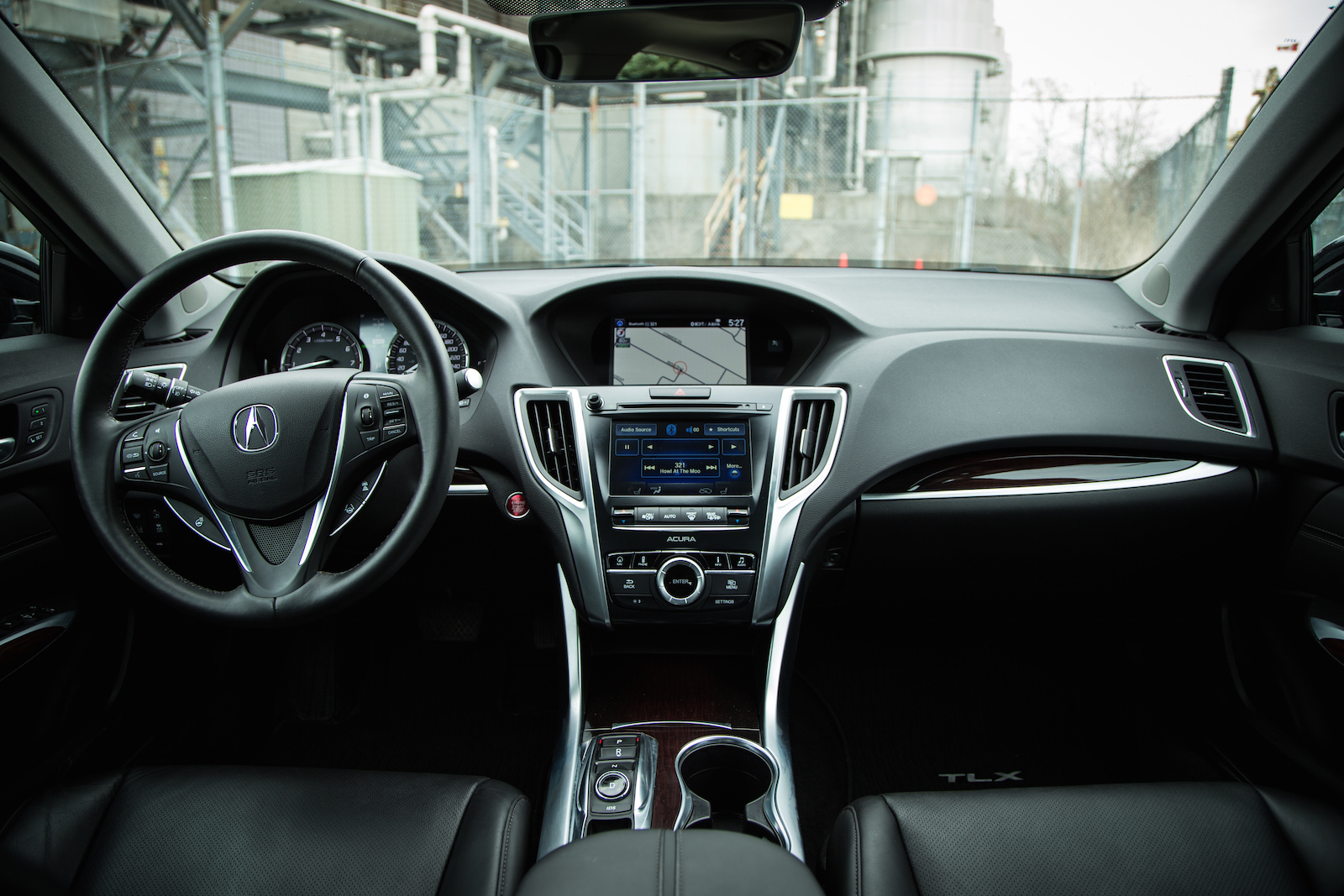 ... Acura Tlx Black Interior