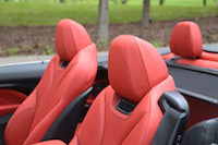 bmw 435i cabriolet air collar seats