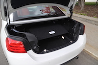 bmw 435i cabriolet cargo space