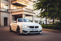 bmw m4 cabriolet driving