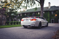 bmw m4 cabriolet quad exhaust