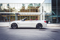 bmw m4 cabriolet top down