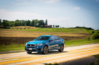 bmw x6 m blue country side