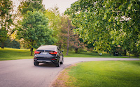 bmw x6 2015 grey rear