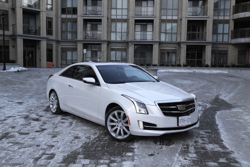 Review 2015 Cadillac Ats Coupe 3 6l Canadian Auto Review