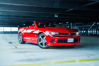 Review: 2015 Chevrolet Camaro 2SS Commemorative Edition ...