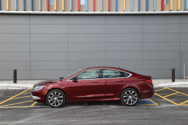 2015 chrysler 200c awd velvet red pearl