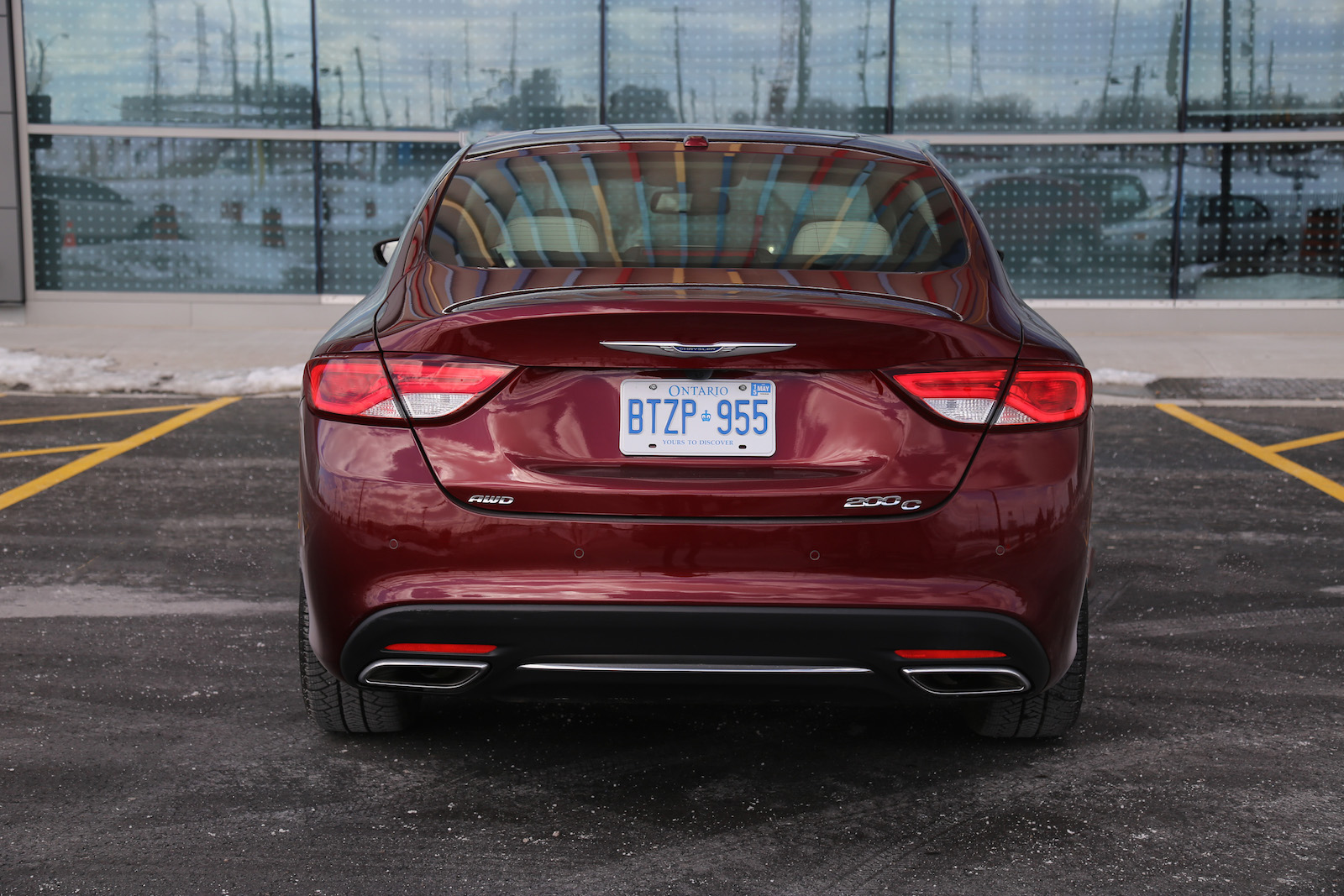 Chrysler 200: To Disarm The System
