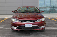 2015 chrysler 200c awd red