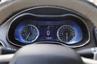 2015 chrysler 200c awd blue gauges