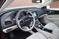 2015 chrysler 200c awd interior white black premium