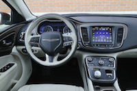 2015 chrysler 200c awd interior
