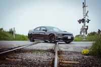 dodge charger hellcat train track