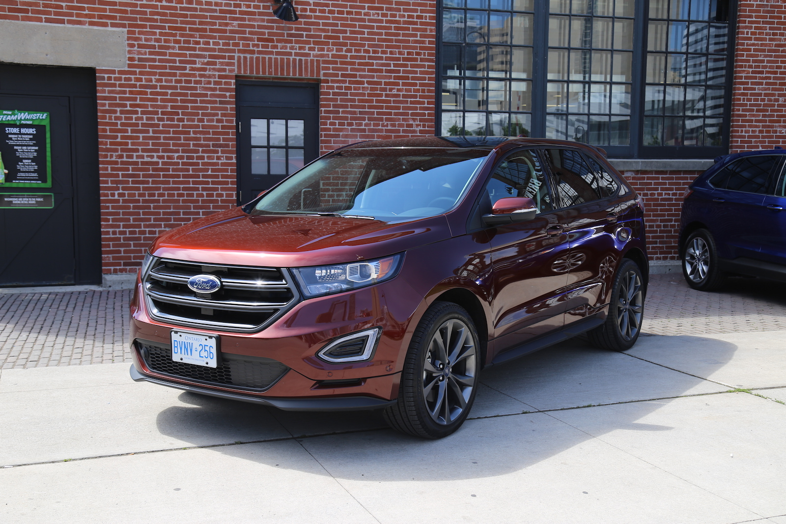 first drive 2015 ford edge canadian auto review. Black Bedroom Furniture Sets. Home Design Ideas