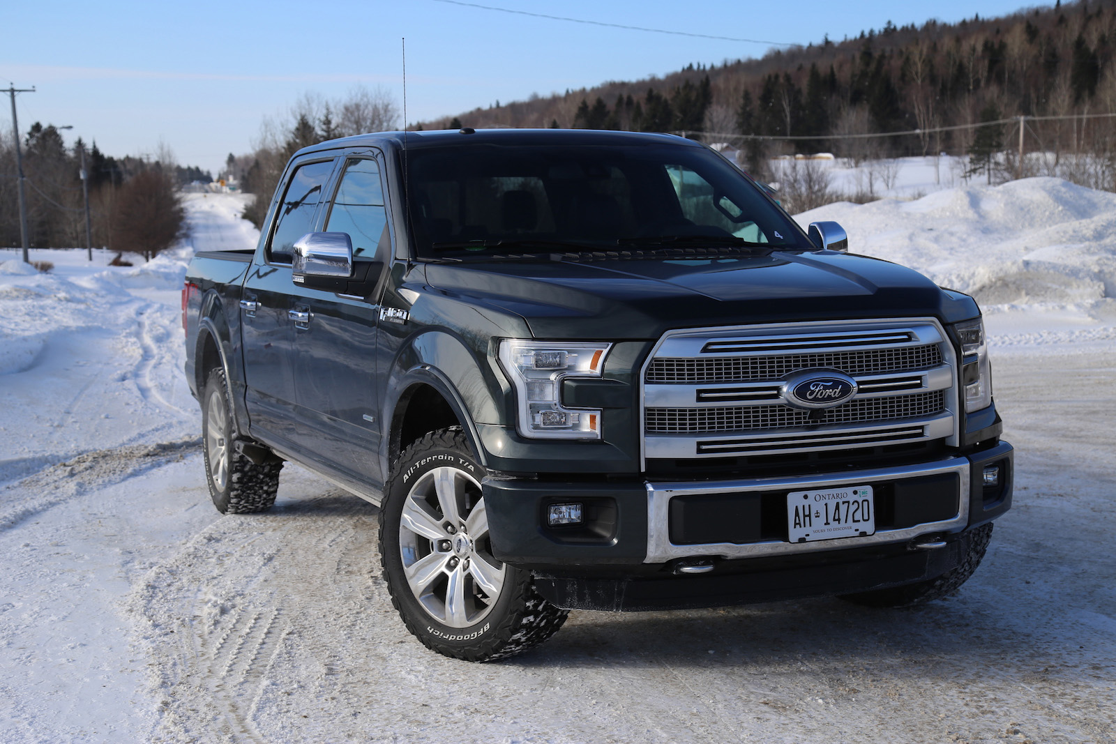 review 2015 ford f 150 first drive canadian auto review. Black Bedroom Furniture Sets. Home Design Ideas