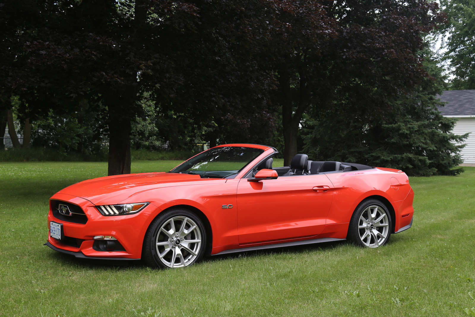 Lastest Review 2015 Ford Mustang GT Convertible  Canadian Auto Review