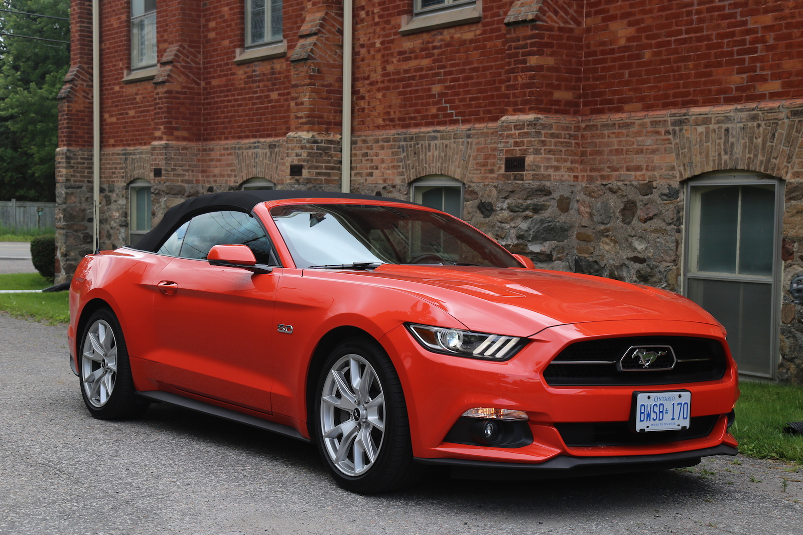 Creative 2015  Ford Mustang GT Convertible  Canadian Auto Review