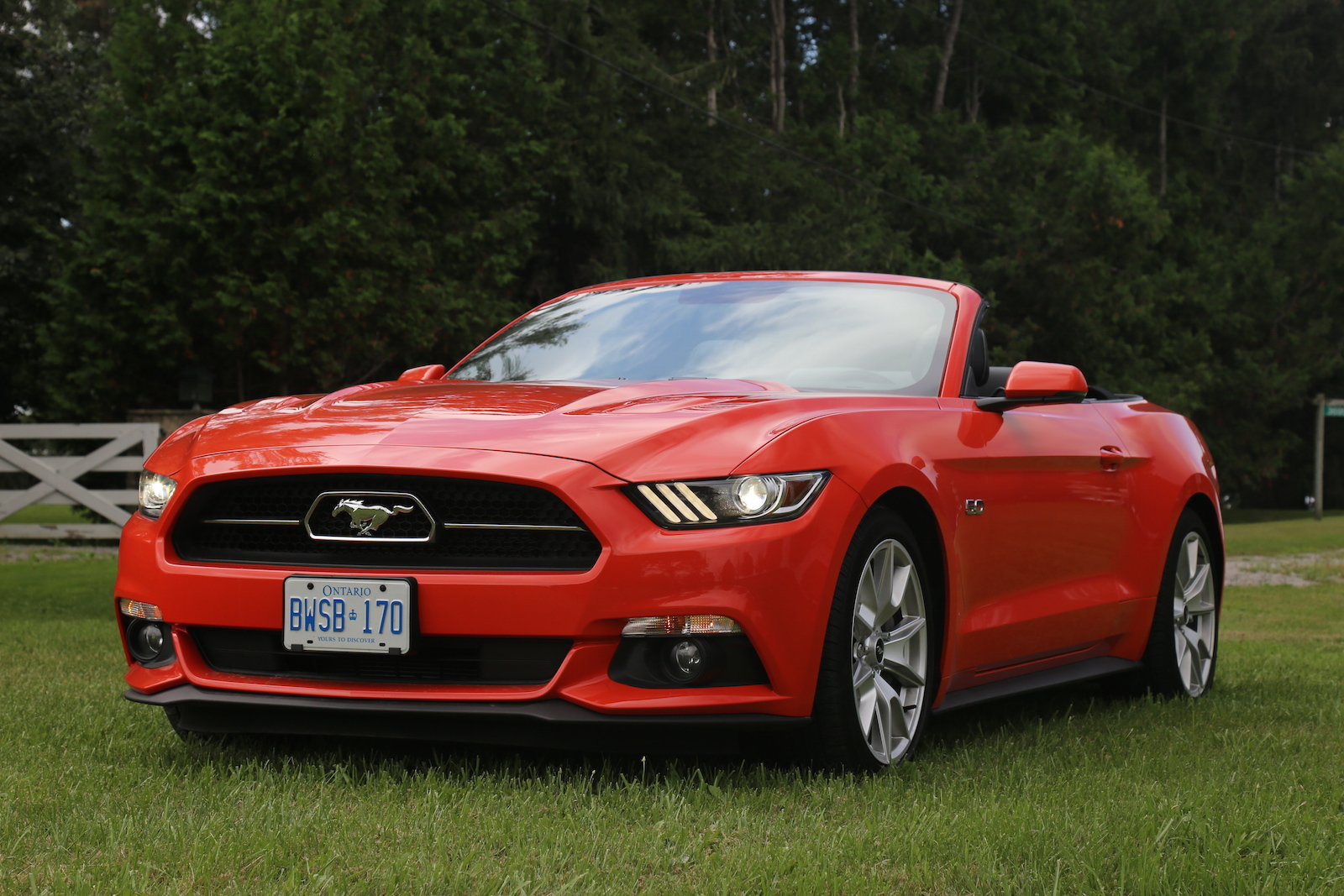 Beautiful 2015  Ford Mustang GT Convertible  Canadian Auto Review