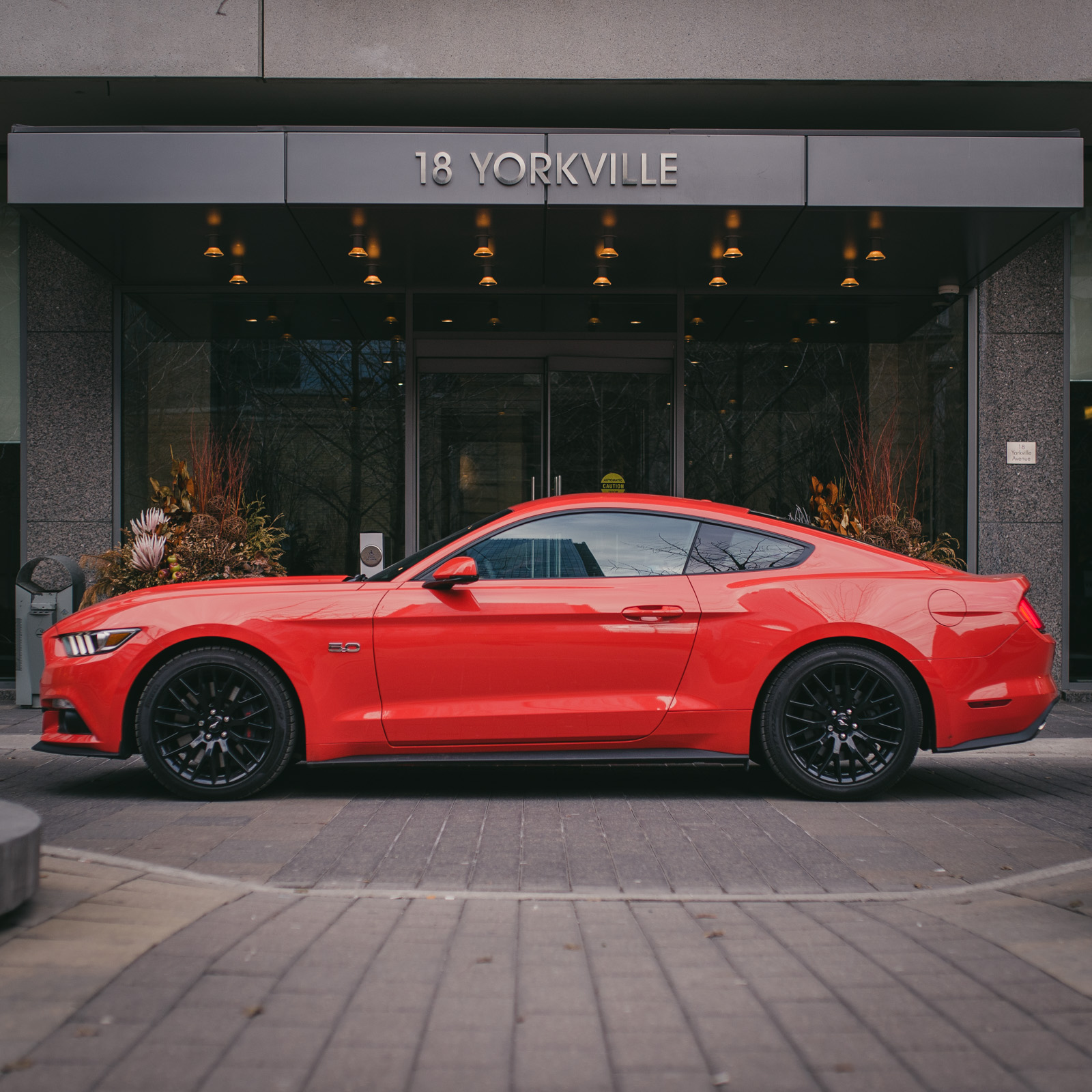 Review 2015 Ford Mustang Gt Canadian Auto Engine Rear Toronto Six Orange Yorkville
